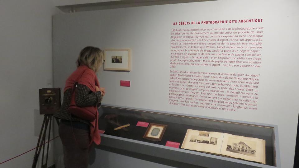 Visite de l'expo photo archives départementales