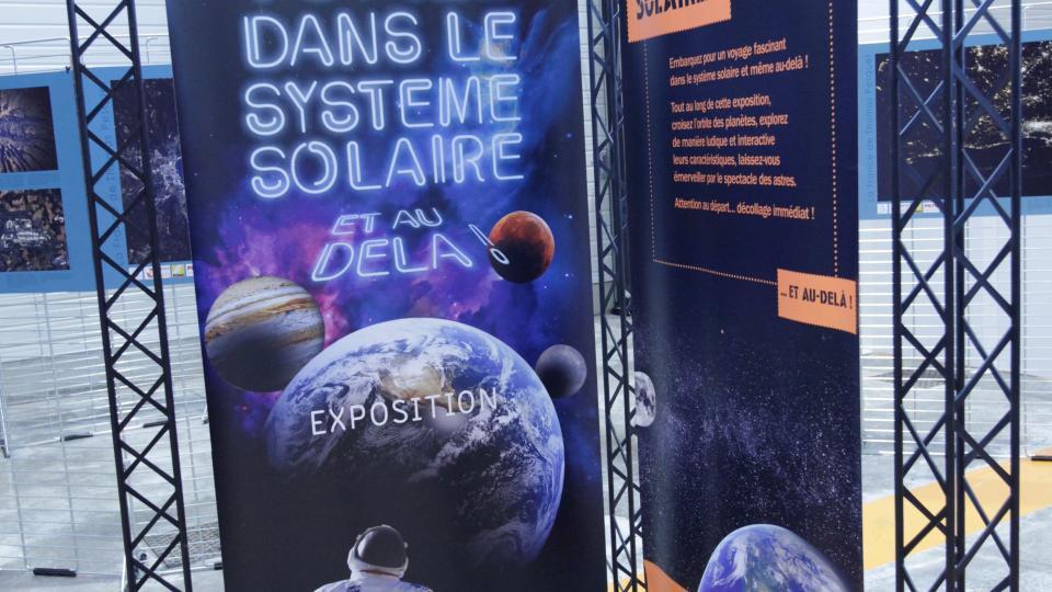 Voyage dans le systeme solaire expo