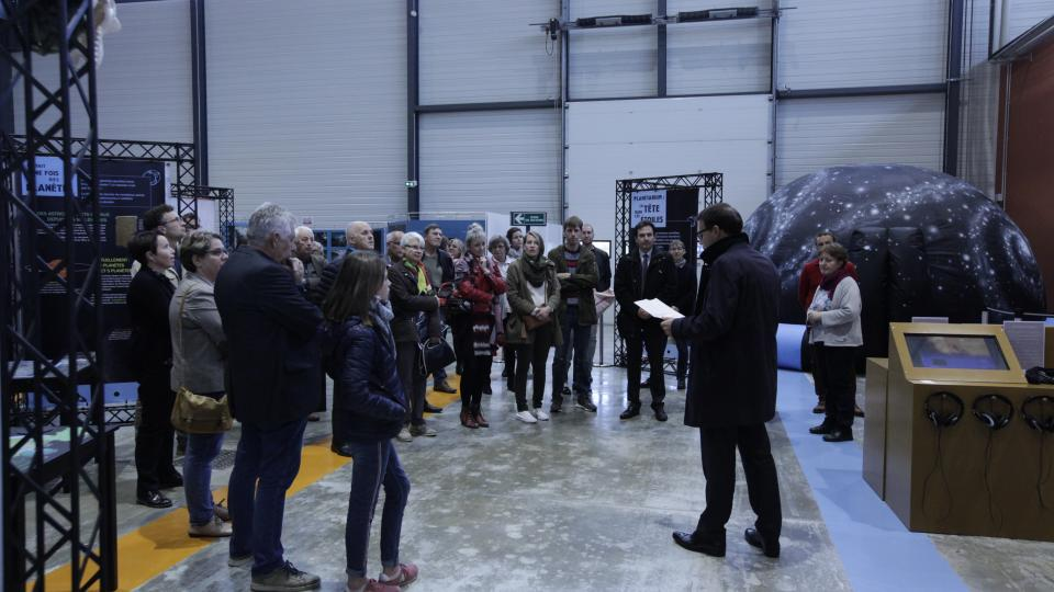Inauguration expo systeme solaire 2019