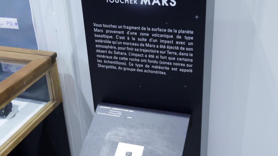 Touchez mars expo systeme solaire