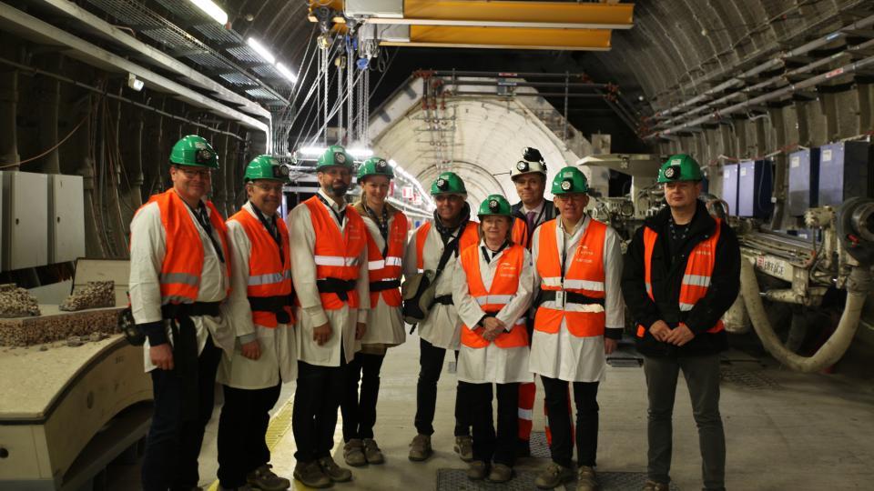 Visite Olaf Lies, ministre de l'envrionnement Basse-Saxe et son équipe